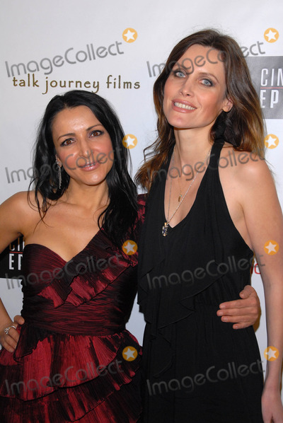 Anastasia Fontaines Photo - Anastasia Fontaines and Silvia Suvadova at the premiere of Cinema Epochs Violent Blue Culver Plaza Theaters Culver City CA 01-07-11