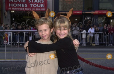 Cayden Boyd Photo - Cayden Boyd and Jenna Boyd at the premiere of Warner Bros Kangaroo Jack at the Chinese Theater Hollywood 01-11-03