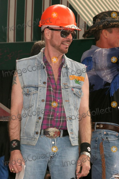 Village People Photo - David Hodo at the Hollywood Walk of Fame Ceremony Honoring the Band The Village People  Hollywood Boulevard Hollywood CA 09-12-08