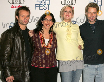 Alec Newman Photo - Alec Newman and Elizabeth Puccini with Madchen Amick and Brad Roweat the AFI FEST 2005 Screening of Four Corners Of Suburbia Audi Pavilion Hollywood CA 11-09-05