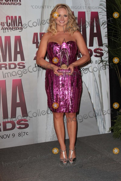 Miranda Lambert Photo - Miranda Lambertat the 2011 CMA Awards Bridgestone Arena Nashville TN 11-09-11