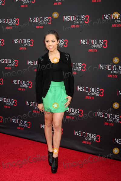 Aneliz Aguilar Photo - Aneliz Aguilar at the Insidious Chapter 3 Premiere TCL Chinese Theater Hollywood CA 06-04-15