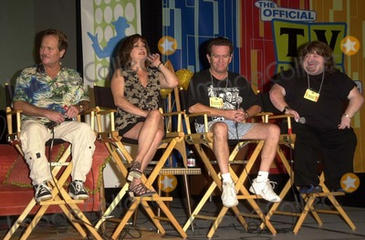 Lisa Loring Photo - Jon Provost Lisa Loring Butch Patrick and Mason Reese at the Official TV Land Convention Burbank Airport Hilton Burbank CA 08-16-03
