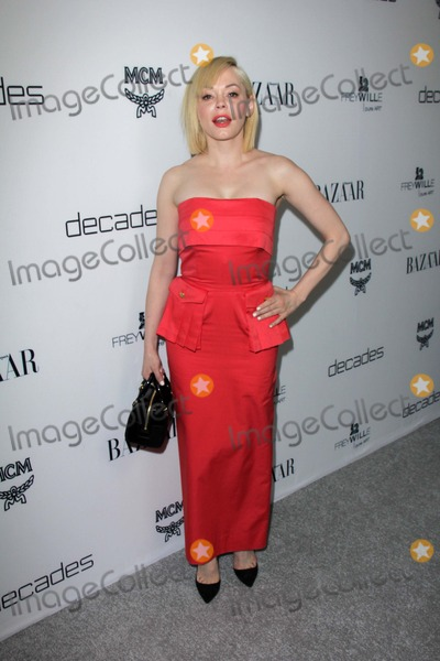 Rose Mc Gowan Photo - Rose McGowanat Harpers Bazaar Celebrates The Launch Of The Dukes of Melrose Sunset Tower West Hollywood CA 02-28-13