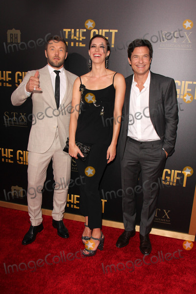 Joel Edgerton Photo - Joel Edgerton Rebecca Hall Jason Batemanat The Gift World Premiere Regal Cinemas Los Angeles CA 07-30-15