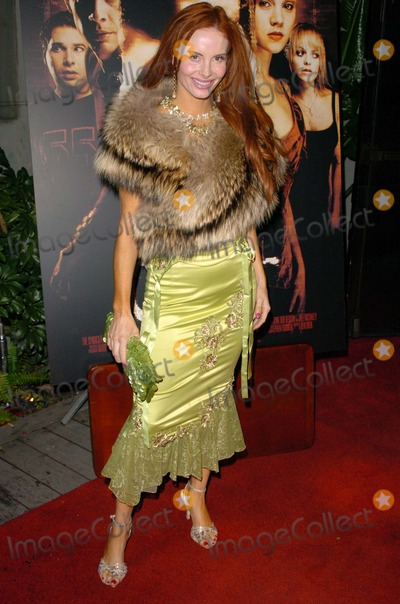 Cult Photo - Phoebe Price at the wrap party for the film Cult White Lotus Hollywood CA 02-22-05