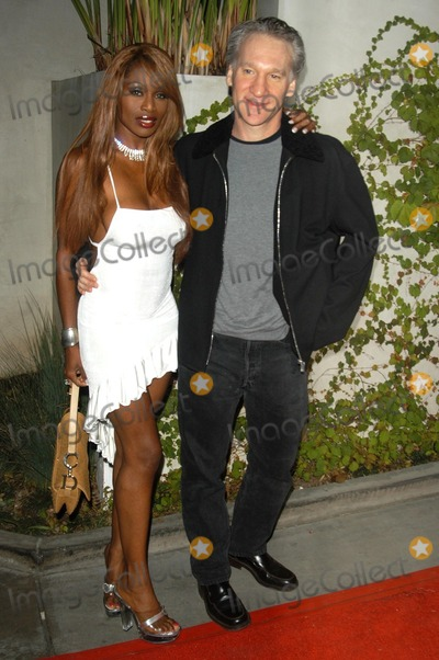 Coco Johnson Photo - Bill Maher and Coco Johnson at the Flaunt Magazine Summer Reign Party Falcon Hollywood CA 06-20-03