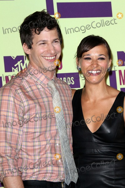Andy Sandberg Photo - Andy Sandberg and Rashida Jonesat the 2012 Video Music Awards Press Room Staples Center Los Angeles CA 09-06-12