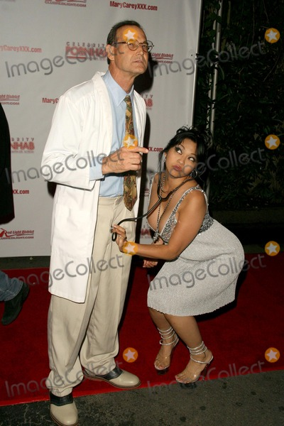 Mika Tan Photo - Mike Horner and Mika Tanat the Celebrity Pornhab with Dr Screw Premiere Party Les Deux Hollywood CA 06-01-09