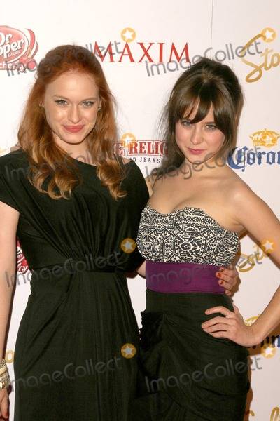Alessandra Toreson Photo - Leven Rambin and Alessandra Toresonat the 2009 Maxim 100 Party Barker Hanger Santa Monica CA 05-13-09