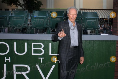 Clint Eastwood Photo - Clint Eastwood and empty chairsat the Trouble With The Curve Los Angeles Premiere Mann Village Theatre Westwood CA 09-19-12