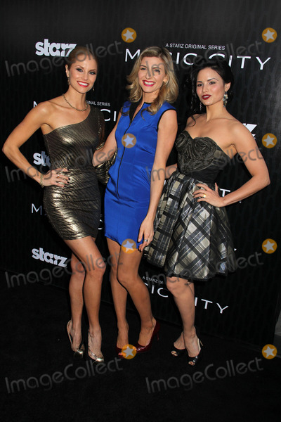 Viva Bianca Photo - Ellen Hollman Viva Bianca and Katrina Lawat the Magic City Los Angeles Premiere Directors Guild of America Los Angeles CA 03-20-12