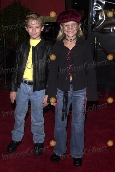Jenna Boyd Photo - Jenna Boyd and brother Cayden Boyd at the premiere of Warner Bros Harry Potter And The Chamber Of Secrets Mann Village Theatre Westwood CA 11-14-02