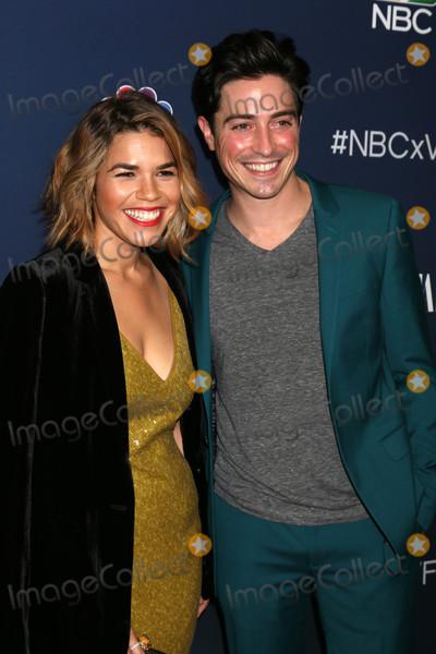 America Ferrera Photo - America Ferrera Ben Feldmanat NBC And Vanity Fair Toast the 2016-2017 TV Season NeueHouse Hollywood Los Angeles CA 11-02-16