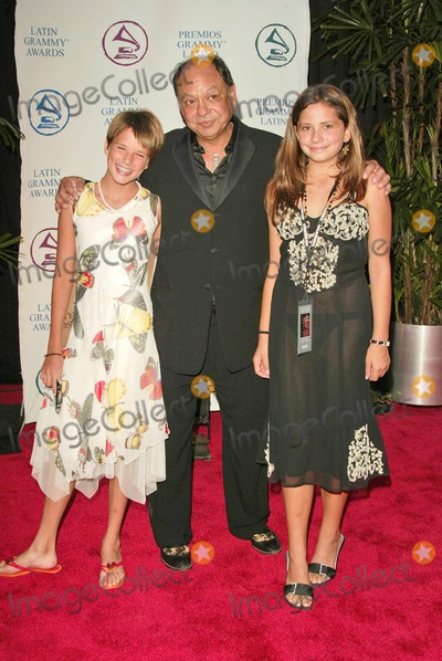 Carlos Santana Photo - Cheech Marin and daughters Claudine and Jasmine at the 2004 Latin Recording Academy Person of the Year Tribute to Carlos Santana at the Century Plaza Hotel Century City CA 08-30-04