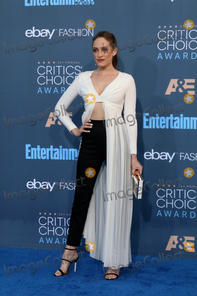 Carly Chaikin Photo - Carly Chaikinat the 22nd Annual Critics Choice Awards Barker Hanger Santa Monica CA 12-11-16