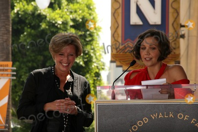 Emma Thompson Photo - Emma Thompson and Maggie Gyllenhaal at the induction ceremony for Emma Thompson into the Hollywood Walk of Fame Hollywood CA 08-06-10