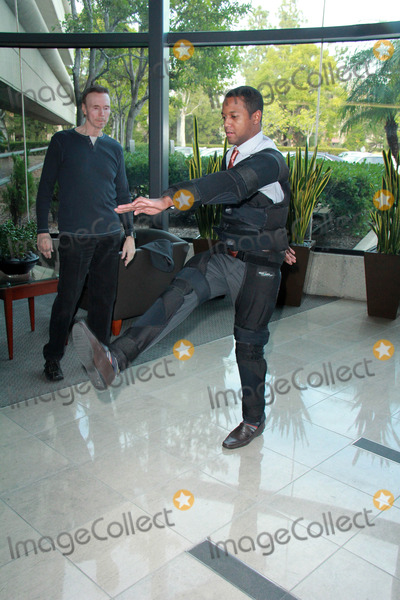 Amiel Photo - Amiel TraynumAmiel Traynum Jim Fostervetting the new Gravity Suit for Injured Athletes Private Location Los Angeles CA 01-08-15