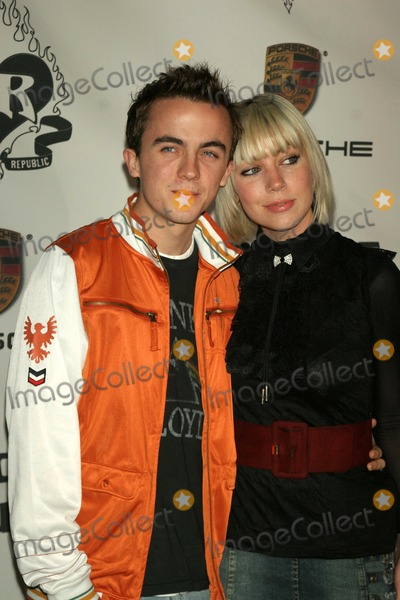 Frankie Muniz Photo - Frankie Muniz and friendat the Rock and Republic Spring 2006 Show Sony Studios Culver City CA 10-19-05