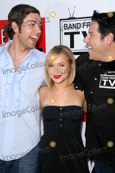 Greg Grunberg Photo - Zachary Levi with Hayden Panettiere and Greg Grunberg at Band From TV Presented by Netflix Live The Autry National Center Of The American West Los Angeles CA 08-09-08