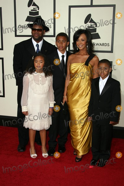 Jimmy Jam Photo - Jimmy Jam and family arriving at the 2008 Grammy Awards Staples Center Los Angeles CA 02-10-08