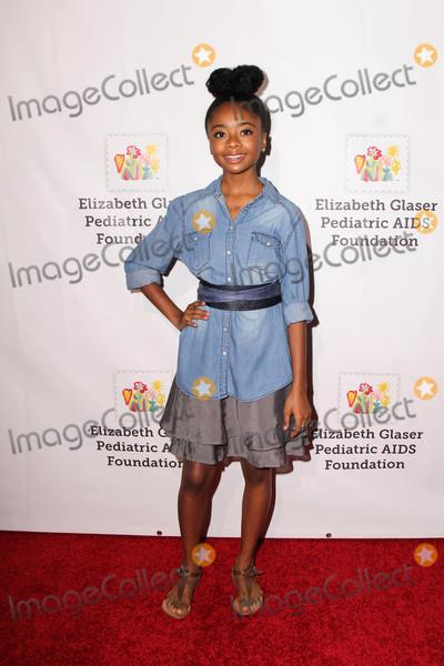 Skai Jackson Photo - Skai Jacksonat the Elizabeth Glaser Pediatric AIDS Foundations A TIME FOR HEROES Smashbox Studios Culver City CA 10-23-16