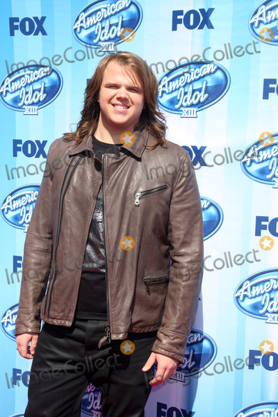 Caleb Johnson Photo - Caleb Johnsonat the American Idol Season 13 Finale Nokia Theater Los Angeles CA 05-21-14