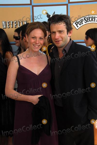 Anya Epstein Photo - Anya Epstein and Dan Futtermanat the 21st Independent Spirit Awards Santa Monica Beach Santa Monica CA 03-04-06