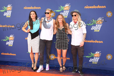 Abby Wambach Photo - Ali Krieger Abby Wambach Christie Rampone Ashlyn Harrisat the Nickelodeon Kids Choice Sports Awards 2015 UCLAs Pauley Pavilion Westwood CA 07-16-15