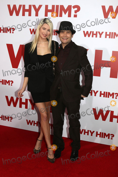 Anne Mitchell Photo - Courtney Anne Mitchell Cory Feldmanat the Why Him Premiere Bruin Theater Westwood CA 12-17-16