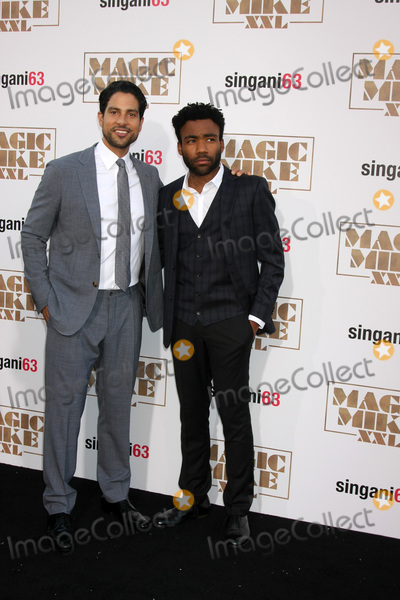 Adam Rodriguez Photo - LOS ANGELES - JUN 25  Adam Rodriguez Donald Glover at the Magic Mike XXL Premiere at the TCL Chinese Theater on June 25 2015 in Los Angeles CA