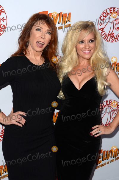 Cassandra Peterson Photo - LOS ANGELES - OCT 17  Cassandra Peterson Bridget Marquardt at the Elvira Mistress Of The Dark Coffin Table Book Launch at Roosevelt Hotel on October 17 2016 in Los Angeles CA