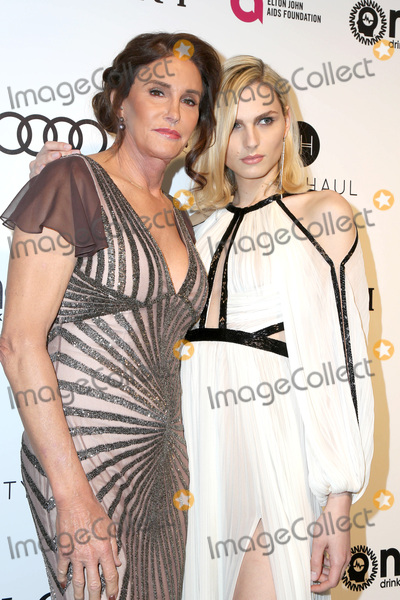 Andreja Pejic Photo - LOS ANGELES - FEB 26  Caitlyn Jenner Andreja Pejic at the 25the Annual Elton John Academy Awards Viewing Party at the  City of West Hollywood Park on February 26 2017 in West Hollywood CA