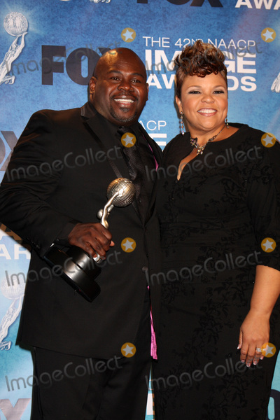 Tamela Mann Photo - LOS ANGELES -  4 David Mann Tamela J Mann in the Press Room of the 42nd NAACP Image Awards at Shrine Auditorium on March 4 2011 in Los Angeles CA