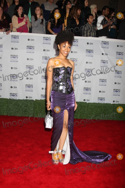 Chrystee Pharris Photo - Chrystee Pharris arriving  at the Peoples Choice Awards at the Shrine Auditorium in Los Angeles CA on January 7 2009
