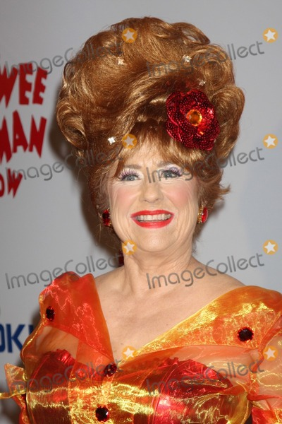 Lynne Marie Stewart Photo - Lynne Marie Stewart as Miss Yvonnearriving at the The Pee Wee Herman Show Opening NightClub NokiaLos Angeles CAJanuary 20 2010