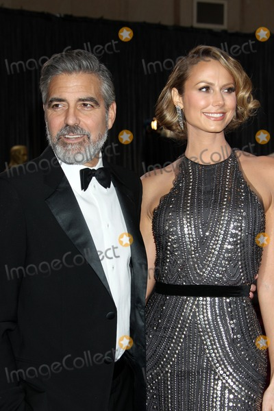 George Clooney Photo - LOS ANGELES - FEB 24  George Clooney Stacy Keibler arrives at the 85th Academy Awards presenting the Oscars at the Dolby Theater on February 24 2013 in Los Angeles CA