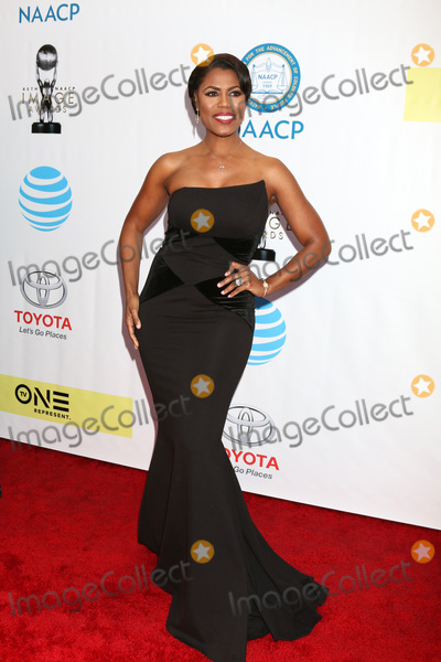 Omarosa Photo - LOS ANGELES - FEB 11  Omarosa Manigault Stallworth at the 48th NAACP Image Awards Arrivals at Pasadena Conference Center on February 11 2017 in Pasadena CA