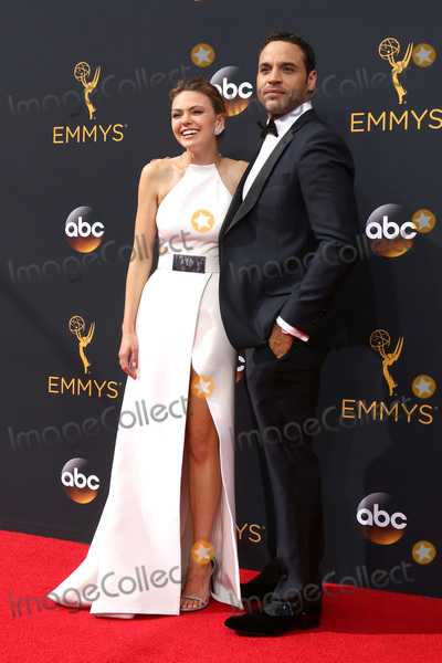 Aimee Teegarden Photo - LOS ANGELES - SEP 18  Aimee Teegarden Daniel Sunjata at the 2016 Primetime Emmy Awards - Arrivals at the Microsoft Theater on September 18 2016 in Los Angeles CA