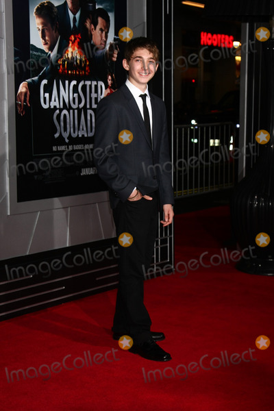 Austin Abrams Photo - LOS ANGELES - JAN 7  Austin Abrams arrives at the Gangster Squad Premiere at Graumans Chinese Theater on January 7 2013 in Los Angeles CA