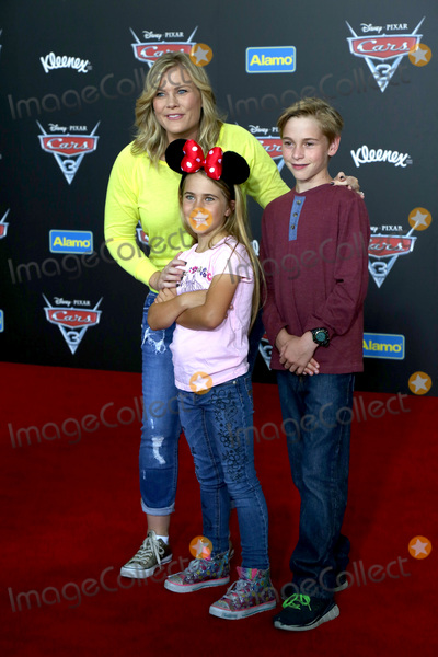 Alison Sweeney Photo - LOS ANGELES - JUN 10  Alison Sweeney Megan Sanov Benjamin Sanov at the Cars 3 Premiere at the Anaheim Convention Center on June 10 2017 in Anaheim CA