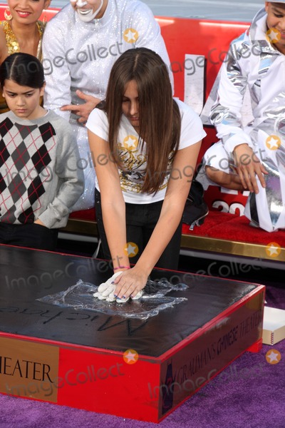 Prince Michael Jackson Photo - LOS ANGELES - JAN 26   Prince Michael Jackson II aka Blanket Jackson Paris Jackson at the Michael Jackson Immortalized  Handprint and Footprint Ceremony at Graumans Chinese Theater on January 26 2012 in Los Angeles CA