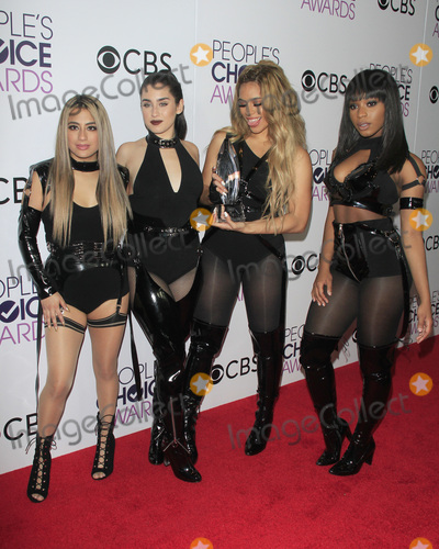Ally Brooke Photo - LOS ANGELES - JAN 18  Fifth Harmony Ally Brooke Dinah Jane Hansen Lauren Jauregui Normani Hamilton at the Peoples Choice Awards 2017 at Microsoft Theater on January 18 2017 in Los Angeles CA
