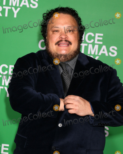 Adrian Martinez Photo - LOS ANGELES - DEC 7  Adrian Martinez at the Office Christmas Party Premiere at Village Theater on December 7 2016 in Westwood CA