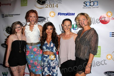 Alexis Raich Photo - LOS ANGELES - SEP 6  Alexis Raich Kristanna Loken Tiffany Panhilason Nicole Bilderback Zoe Bell at the Mercenaries Premiere - Burbank International Fim Festival at AMC 6 on September 6 2014 in Burbank CA