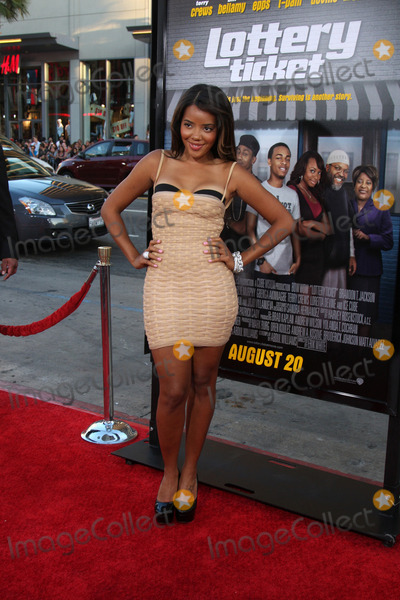 Vanessa Simmons Photo - LOS ANGELES - AUG 12  Vanessa Simmons arrives at the Lottery Ticket World Premiere at Graumans Chinese Theater on August 12 2010 in Los Angeles CA