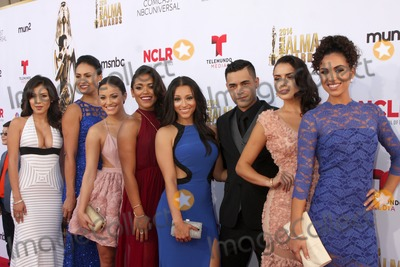 Andrea Sixtos Photo - LOS ANGELES - OCT 10  East Los High Cast Ashley Campuzano Alicia Sixtos Alexandra Rodriguez Vivian Lamolli Gabriel Chavarria Danielle Vega Vanessa Vasquez Andrea Sixtos at the ALMA Awards Arrivals 2014 at Civic Auditorium on October 10 2014 in Pasadena CA