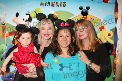 Adrienne Frantz Photo - LOS ANGELES - DEC 4  Amelie Bailey Adrienne Frantz Bailey Kylie Lyn Rodriguez Andrea Evans at the Amelie Baileys 1st Birthday Party at Private Residence on December 4 2016 in Studio CIty CA