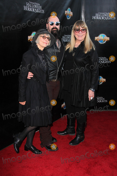 Glenn Hetrick Photo - LOS ANGELES - SEP 18  Lois Burwell Glenn Hetrick Ve Neill at the Universal Studios Halloween Horror Nights 2014 Eyegore Award at Universal Studios on September 18 2014 in Los Angeles CA