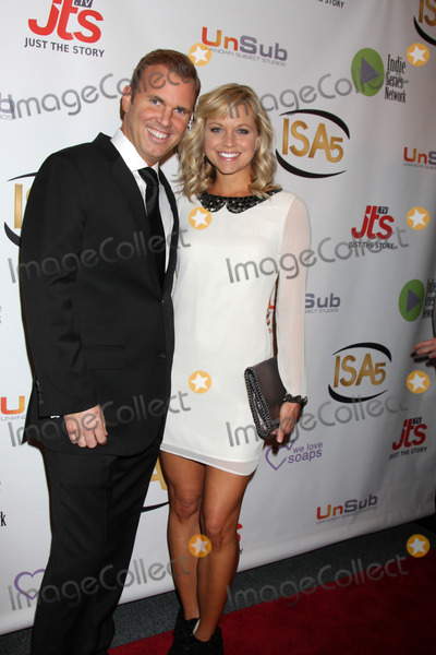 Tiffany Coyne Photo - LOS ANGELES - APR 2  Chris Coyne Tiffany Coyne at the 2014 Indie Series Awards at El Portal Theater on April 2 2014 in North Hollywood CA
